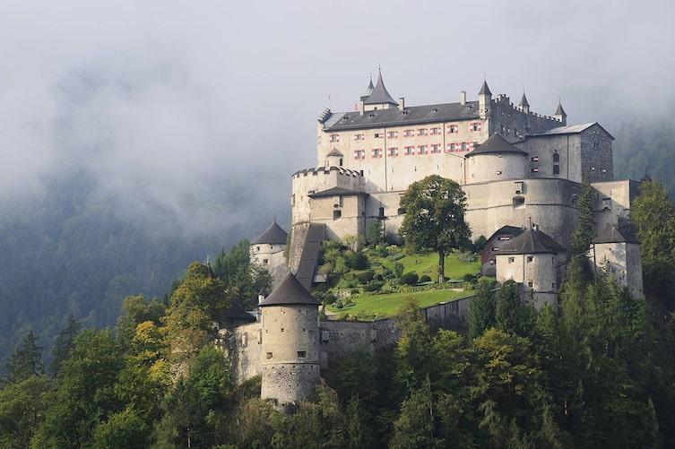 Burg Hohenwerfen, Ausflug, Ausflugsziele Österreich, Burgen in Österreich