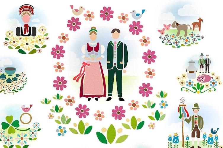 Fast vergessene Hochzeitsbräuche aus Österreich.