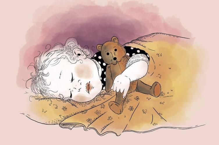 Gerüche für guten Schlaf (Illustration: Verena Schellander)