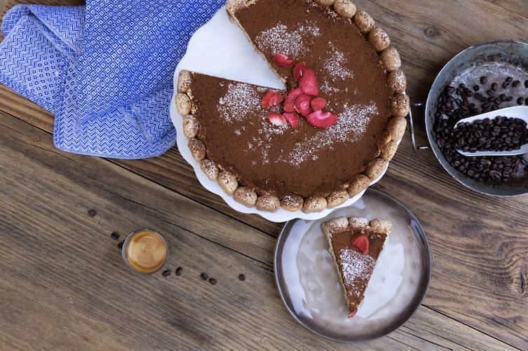 Tiramisu, Torte, Erdbeeren, Jura