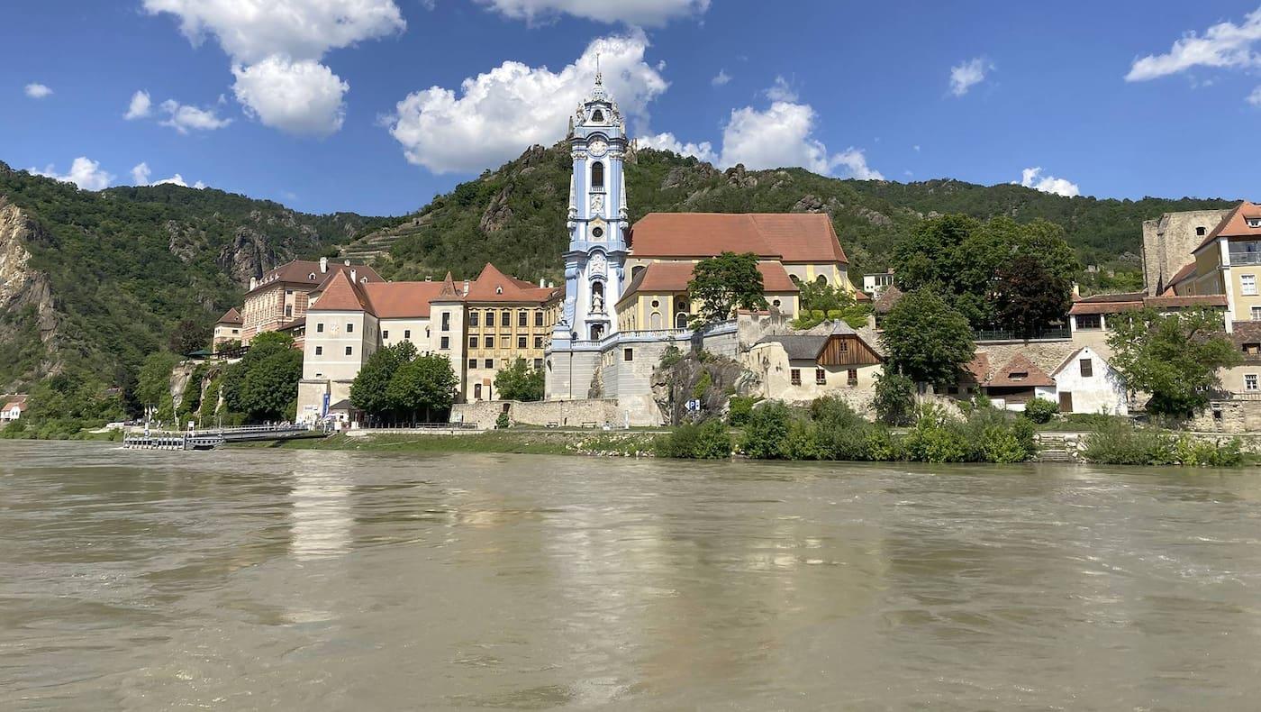 Wachau, Donau, Dürnstein, Schiff