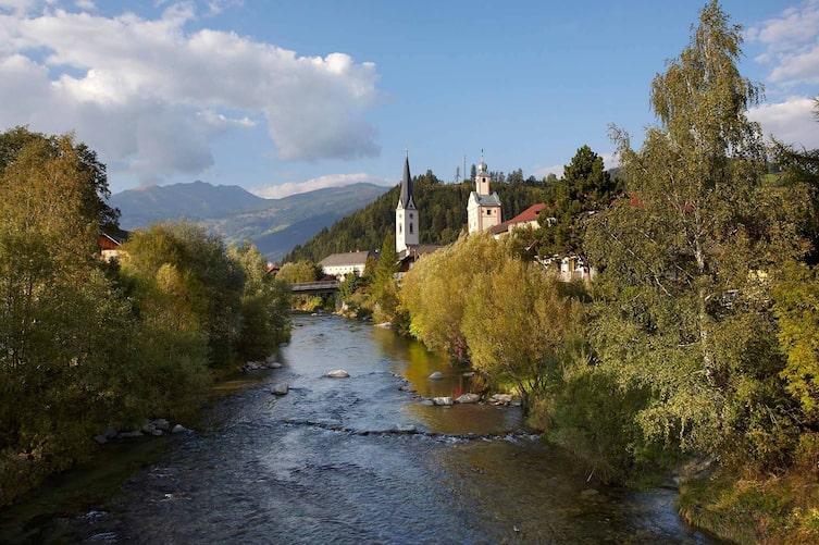 Mittelalterliche Stadt Gmünd, Kärnten, Österreich, Europa