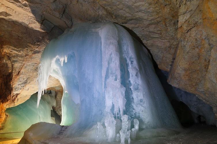 Eisriesenwelt Werfen, Salzburg, Ausflug, Höhle