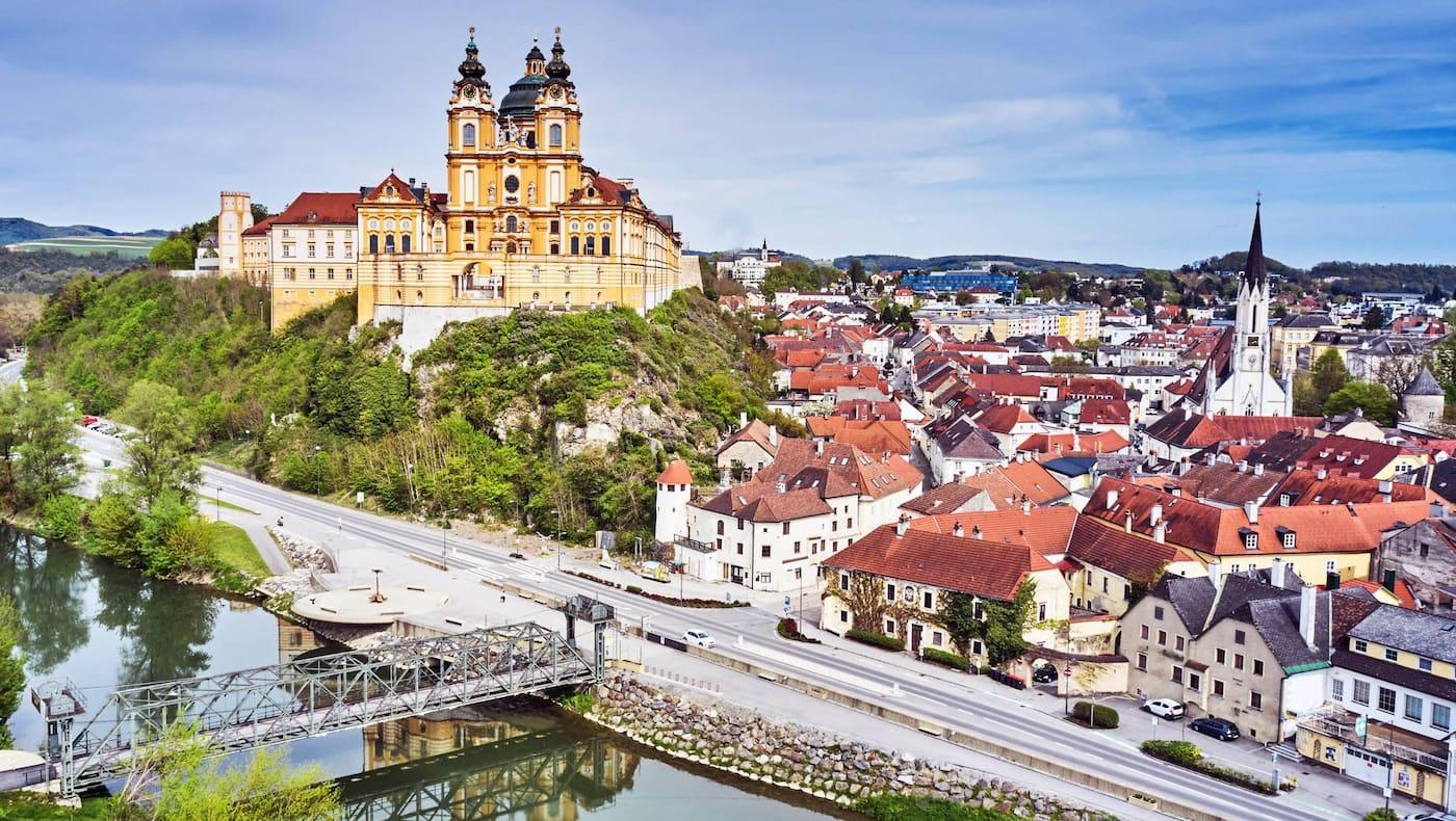 Melk, Altstadt, Stift Melk, Benediktiner, Ausflug