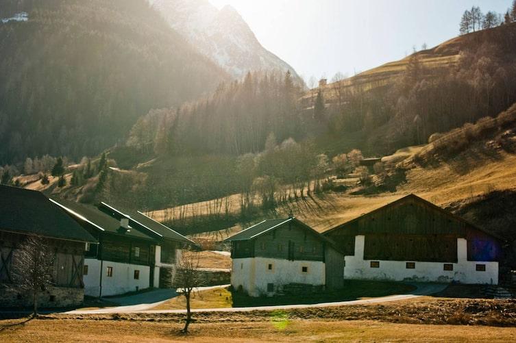 Unverfälschte Natur und charmante Häuser im Mölltal