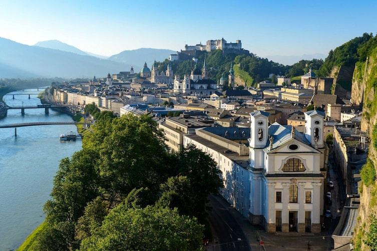 Blick über Salzburg Stadt (Foto: Tourismus Salzburg/Günter Breitegger)