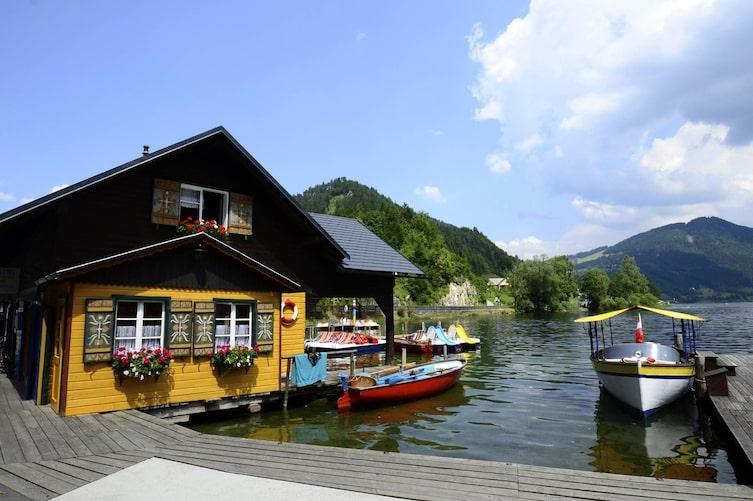 Wirtshäuser am See: Seeterrasse, Lunzer See (Foto: Thinkstock)