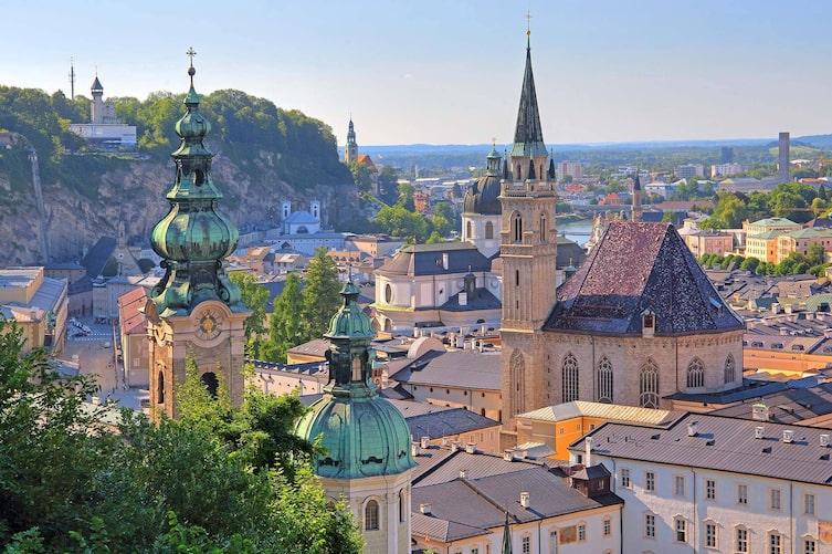 Salzburg Sehenswürdigkeiten, Salzburg erleben, Stadt-Salzburg