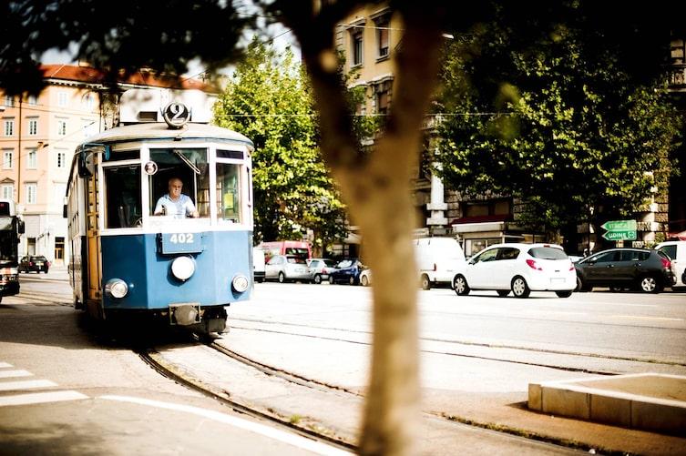 Ausflug Triest: Straßenbahnlinie 2 (Foto: Michael Reidinger)