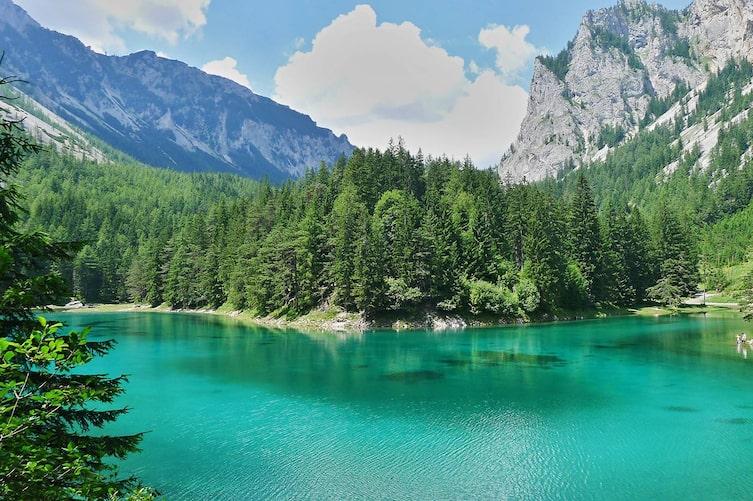 Türkise Seen in Österreich: Grüner See (Bild: Pixabay)