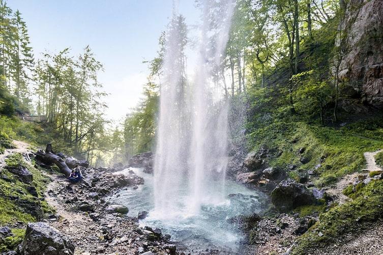 Wildensteiner Wasserfall, Wasserfälle in Österreich, Wasserfälle in Bayern, Ausflugsziele Österreich, Ausflugsziele Bayern, Wasserfall