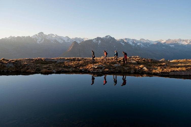 Wanderung, See, Bergsee, Berg, Paznaun, Tirol