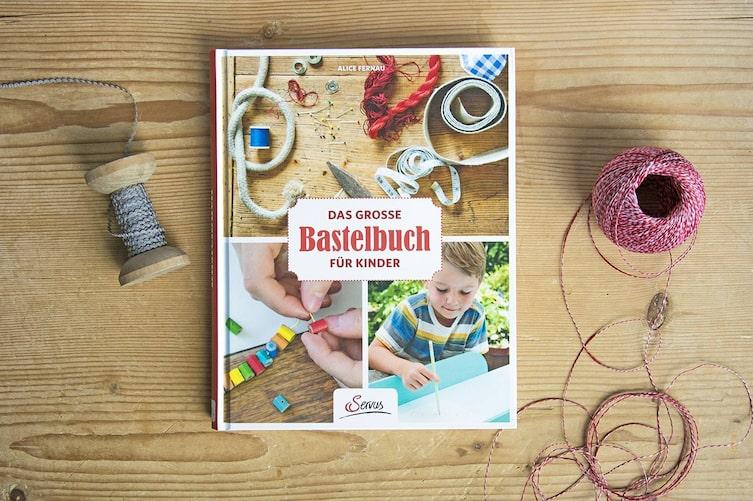 Servus Bastelbuch, Kinder, Alice Fernau, Malen, Anleitungen