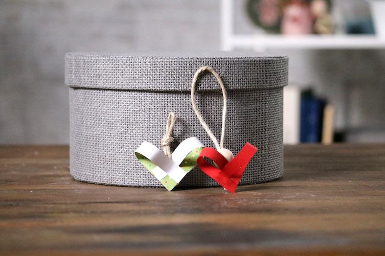 Herzanhänger, Papier, Herz, Papierherz, Geschenk, Basteln