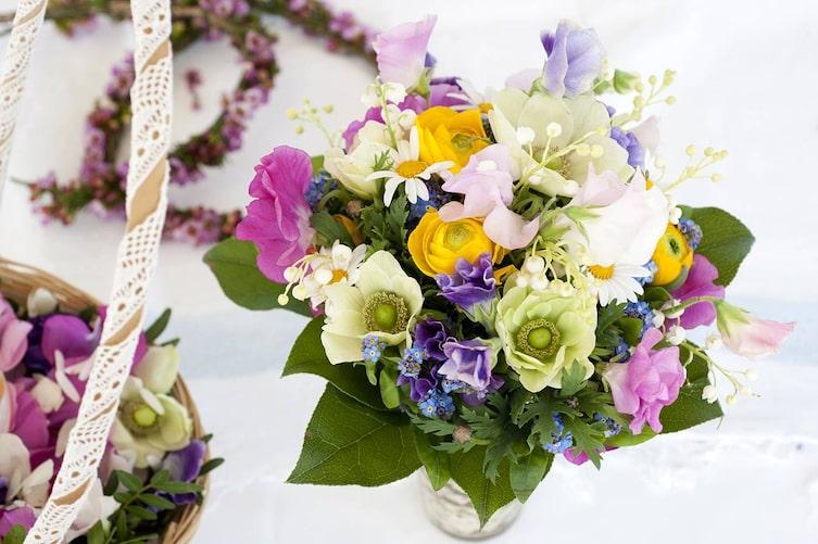 Blumenstrauß, Frühlingsblumen, Sprache der Blumen, Valentinstag