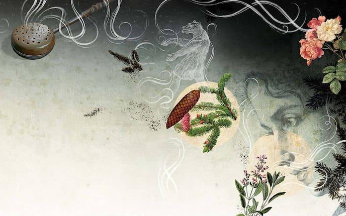 Räuchern in den Raunächten (Illustration: Andreas Posselt)