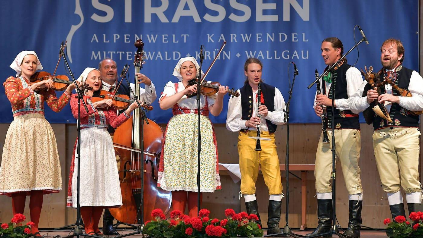 Saitenstrassen, Musik, Volkmusik, Klassik, Fest, Karwendel
