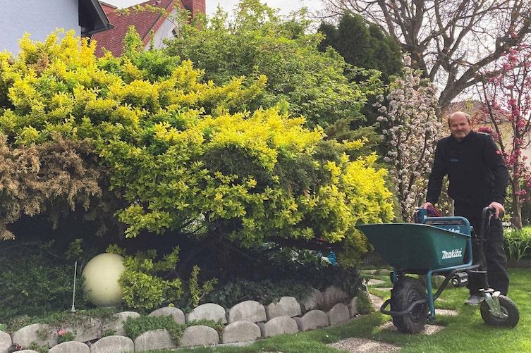 Garten, Gartengestaltung, Heckenschnitt