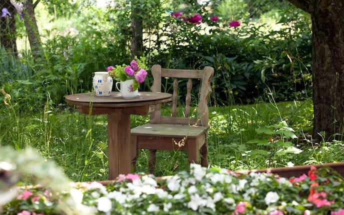 Lieblingsplatz im Grünen, Garten