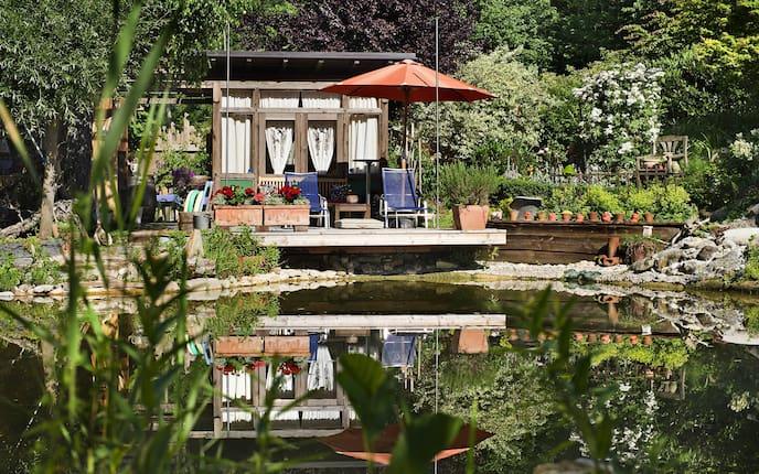 Astrologie im Garten: Wassergarten (Bild: Philipp Platzer)