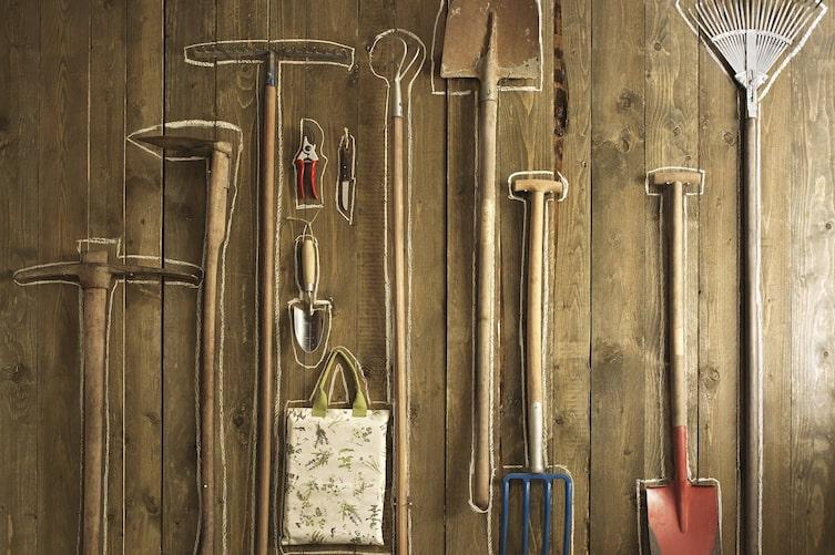 Gartenwerkzeug einwintern, Gartenwerkzeug pflegen, Werkzeugpflege