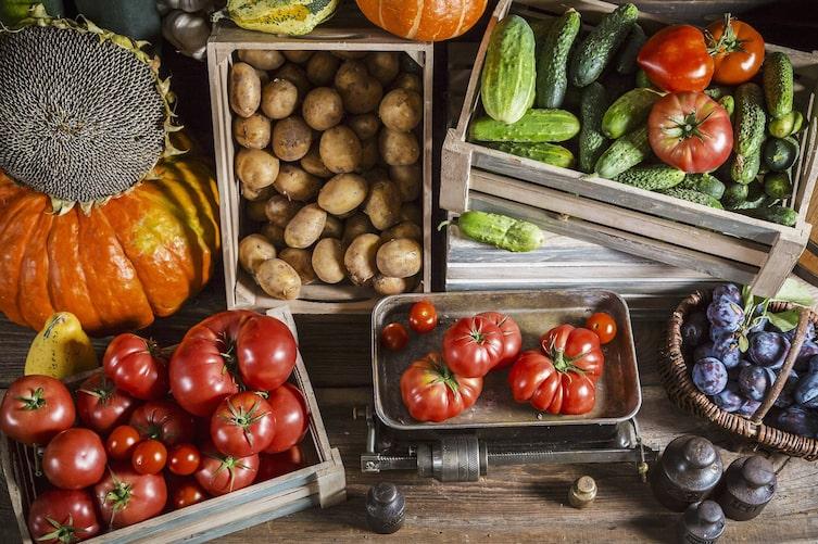 Obst und Gemüse richtig lagern (Foto: Mauritius Images)