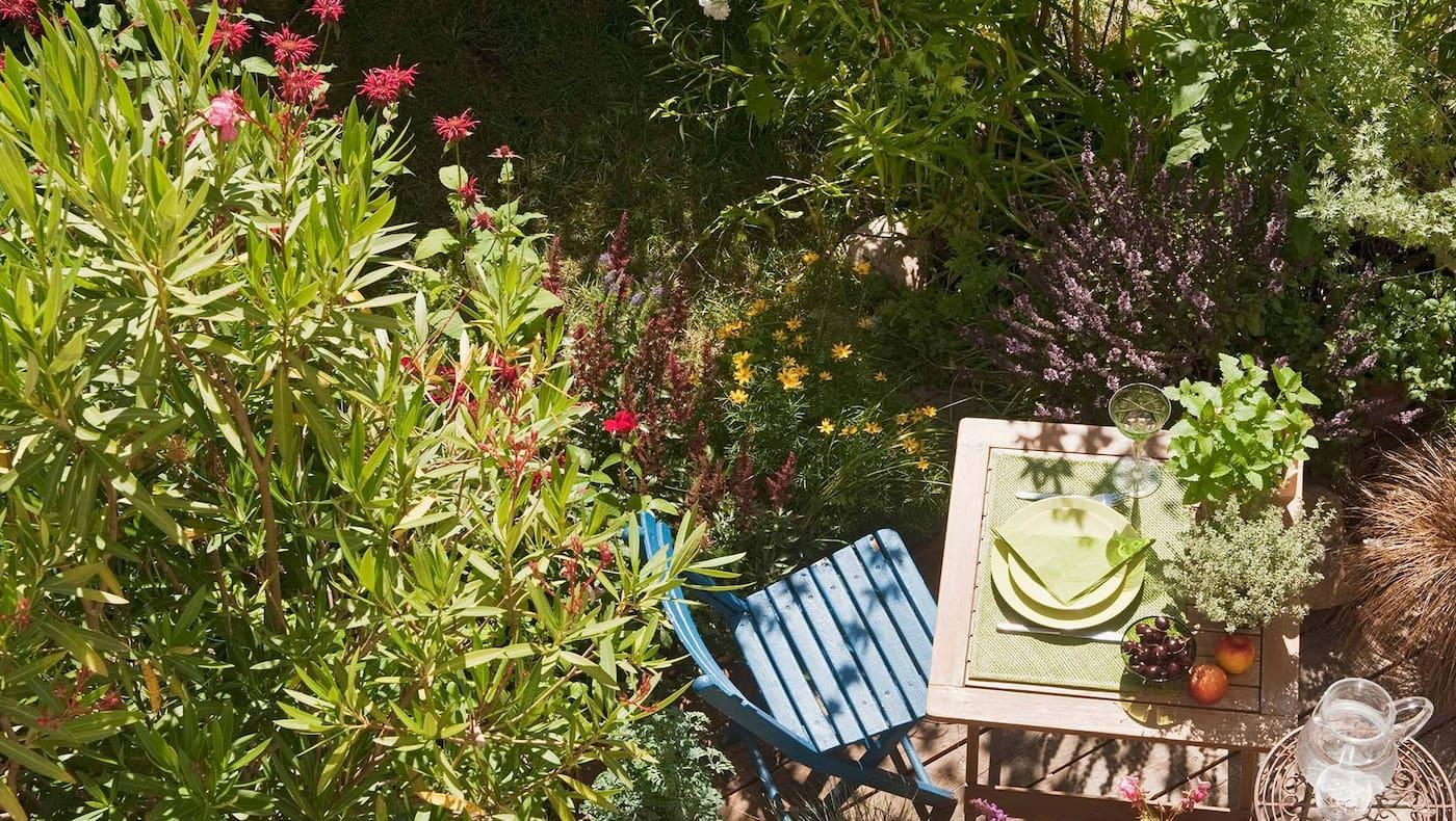 Garten, Gartengewinnspiel, Balkon, Terasse, Gartentisch