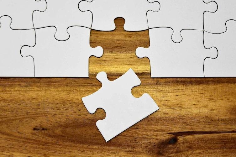 Puzzle Wettbewerb, Puzzle, Puzzleteil