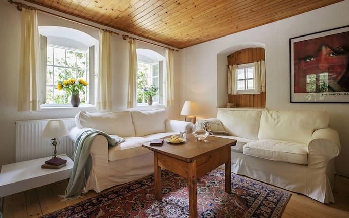 Wohnzimmer, Hausbesuch, Winzerhaus