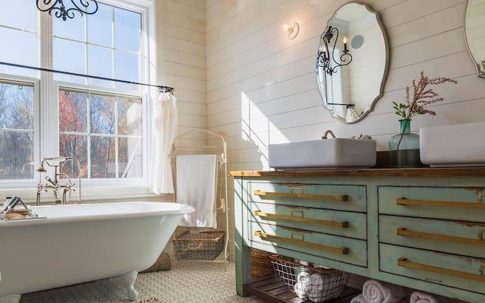 Haushalt, Badezimmer, natürlich putzen