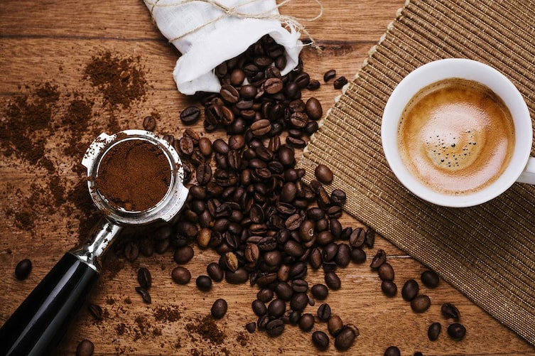 Kaffeesatz, Kaffee, Kaffeebohnen, Haushalt, Garten, Schönheit