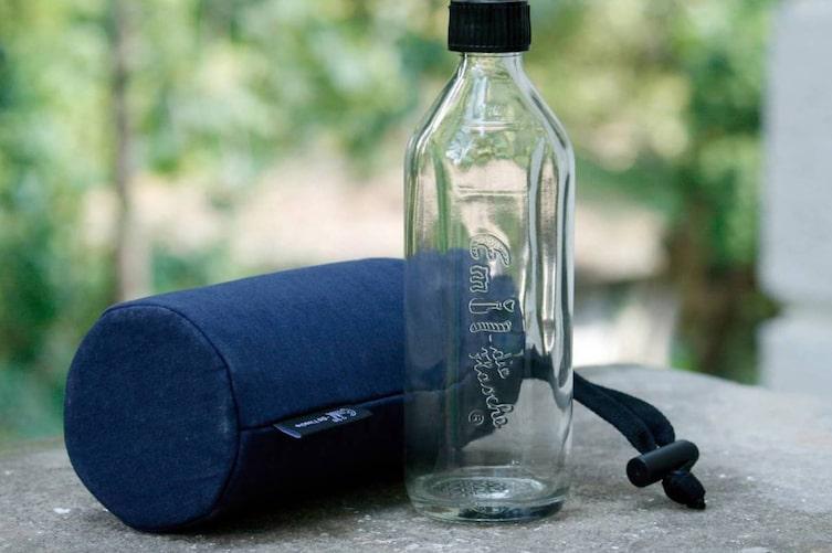 Trinkflasche, Trinkflasche reinigen, Trinkflasche aus Glas