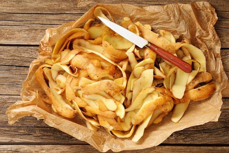 Kartoffelschalen (Foto: Mauritius Images)