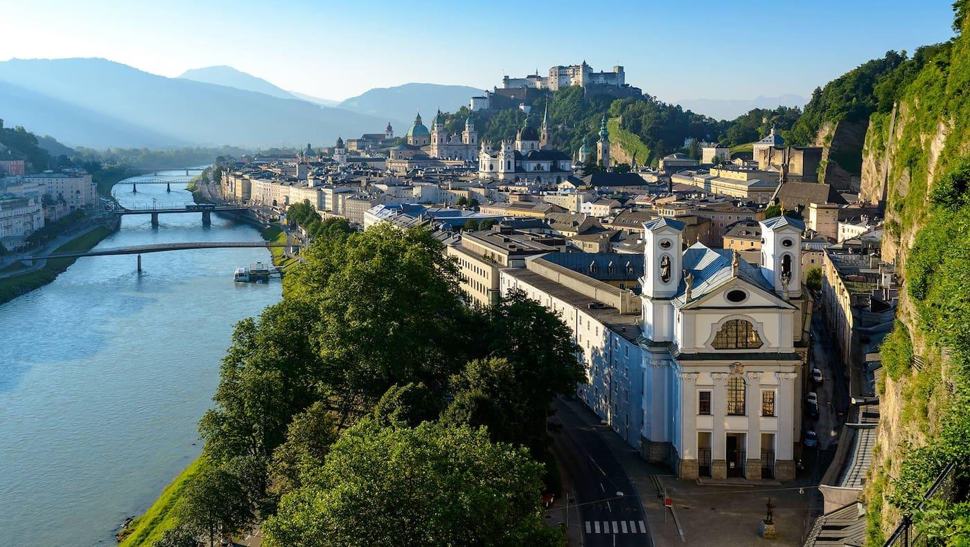 Salzburger Altstadt, Salzburg, Servus-Magazin, Servus-Abo
