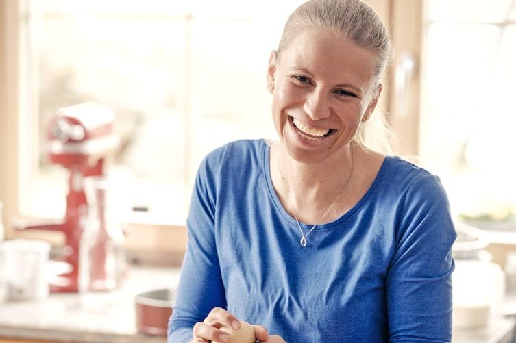Bäckerin, Christina Bauer, Bäuerin, Bloggerin, Backen, Lachen