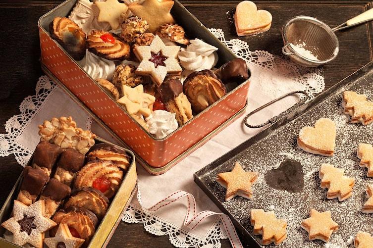 Weihnachtskekse, Kekse, Plätzchen, Keksdose, Weihnachten, Rezepte