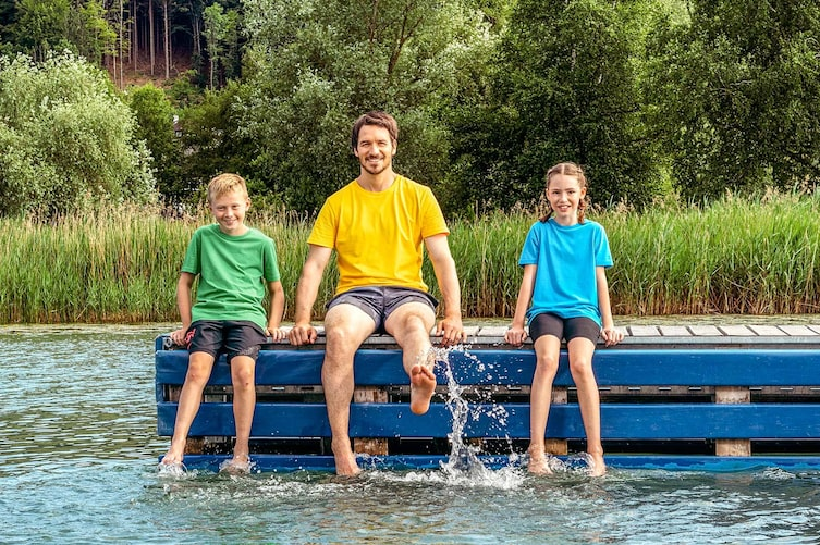 Kinder, Felix Neureuther, Turnen, Sport