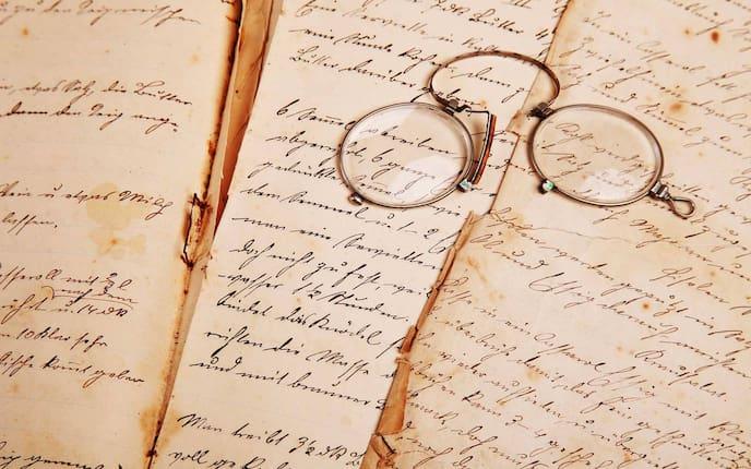 Kurrent, Kurrentschrift, Schreibschrift, Zwicker