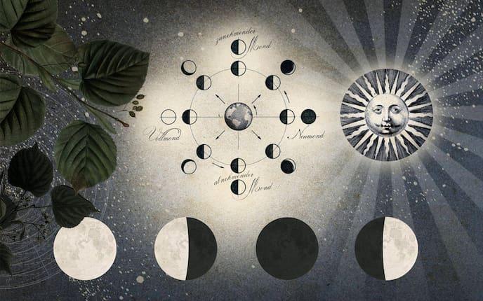 Bedeutung und Wirkung der Mondphasen (Bild: Andreas Posselt)