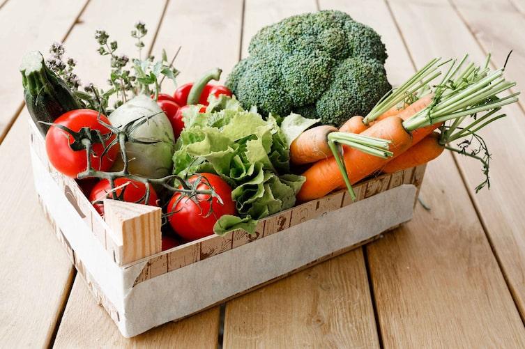 Gelbe, grüne und rote Gemüse- und Obstsorten sind gut für die Augen. (Bild: Mauritius)