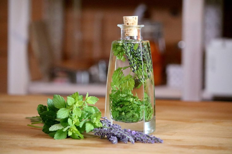 Lavendel-Zitronenmelisse-Tinktur (Foto: Luana Baumann-Fonseca)
