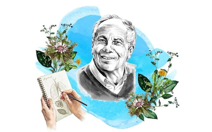 Hans Gasperl, Naturapotheke, Podcast, Illustrationen, Pflanzen