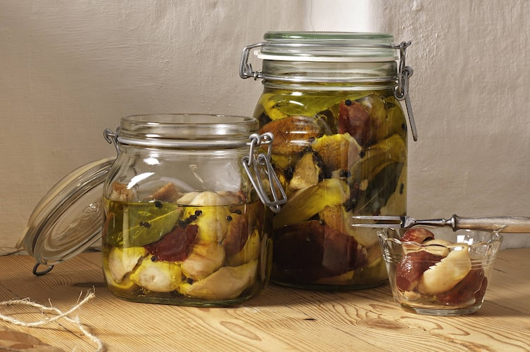 Steinpilze in Olivenöl, Pilze, Schwammerl, einlegen, Servus Rezept