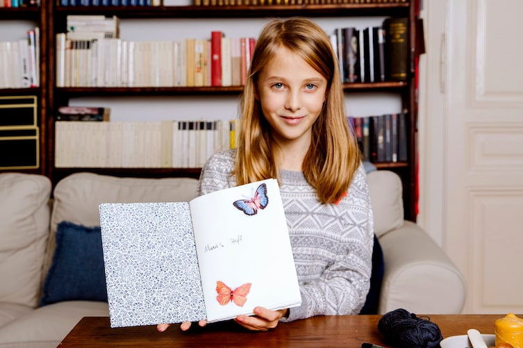 Basteln, Tagebuch, Fadenbindung, DIY