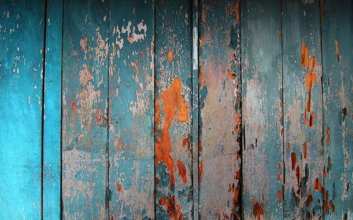 Holzwand, altes Holz, Holzbearbeitung