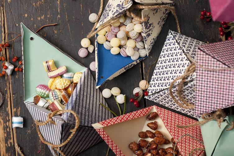 Ideen mit Papierresten: Verpackung (Bild: Katharina Gossow)