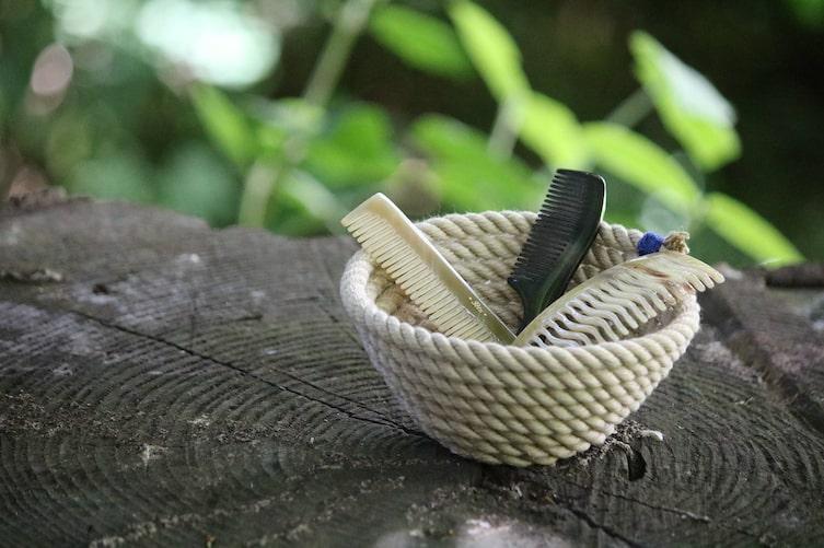 Schüssel aus Seil (Foto: Luana Baumann-Fonseca)