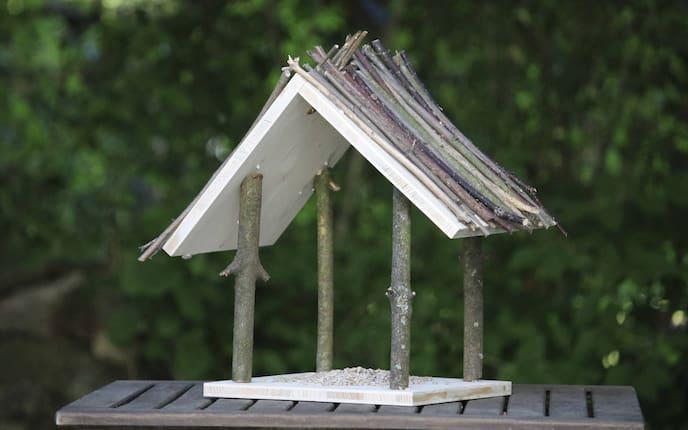 Vogelhaus, Futterhaus, Holz, Garten