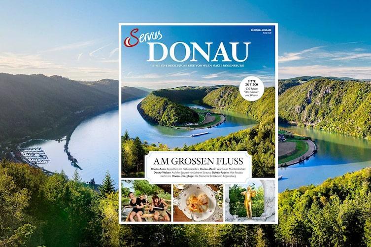 Servus, Donau, Cover, Regionalausgabe