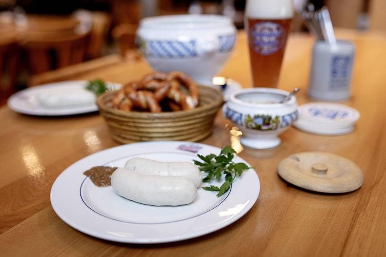 Metzgerei Gassner München, Weißwurst, Weißwurst München, Weißwurst München essen